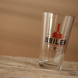 NE brewery glass