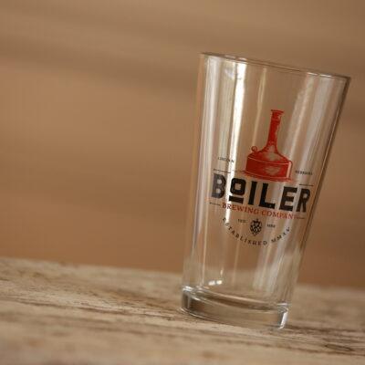 NE brewery glass