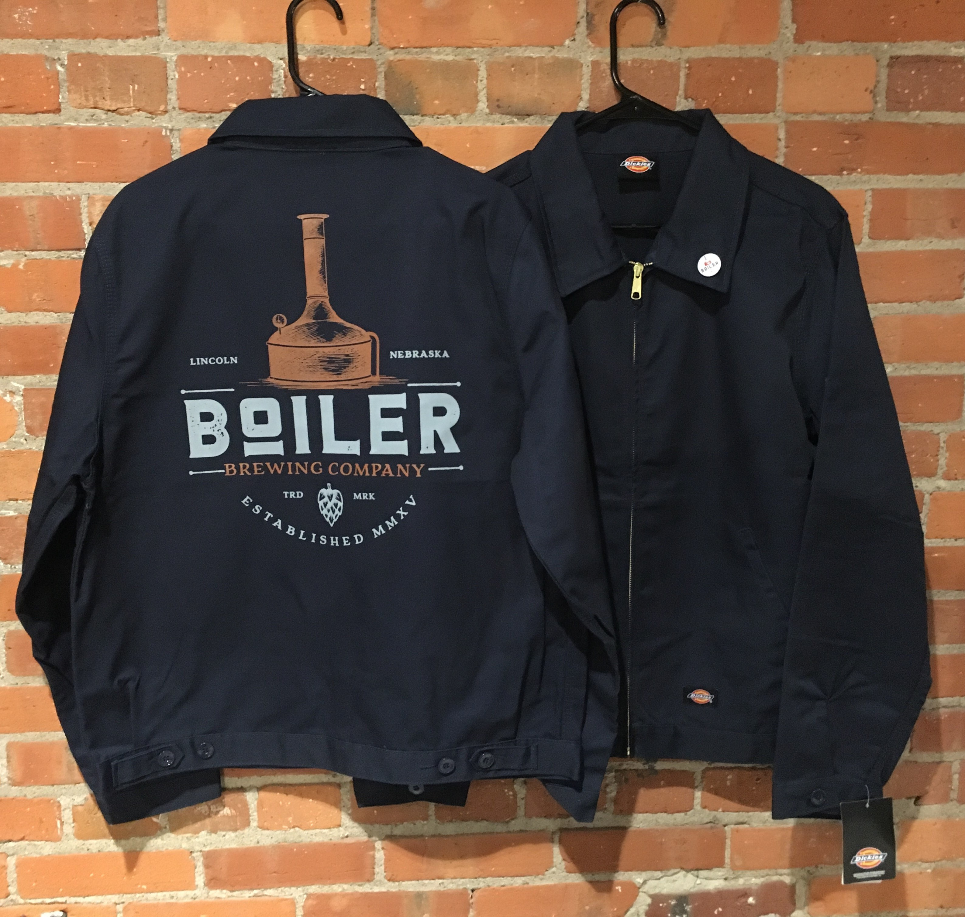 lincoln brewery jacket